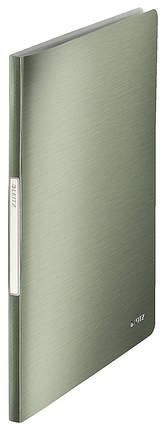 """Папка с файлами Leitz Style  20 файлов, цвет """"зеленый малахит"""", арт. 39580053, фото 2"""