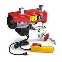 Электрический тельфер《лебедка》Euro Craft HJ203 ✅250/500 кг ✅1600Вт✅ POLAND✅Гарантия 1 год!, фото 1
