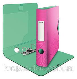 Папка-регистратор Leitz Active Urban Chic 180°, 82мм, розовый, арт. 11160022