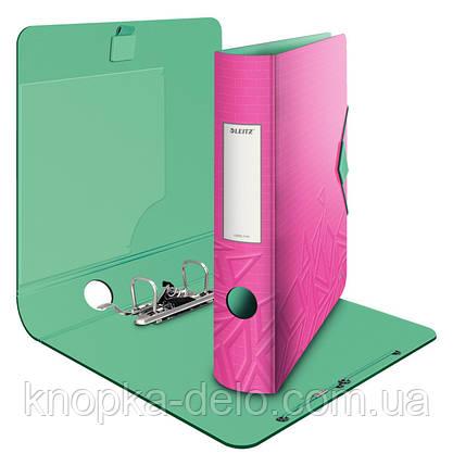 Папка-регистратор Leitz Active Urban Chic 180°, 82мм, розовый, арт. 11160022, фото 2