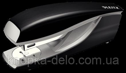 Степлер металлический Leitz New NeXXt Style, 30 листов, сатиновый черный, арт. 55620094, фото 2