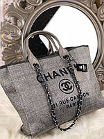 Дорожная сумка Шанель 44 см (реплика), фото 1