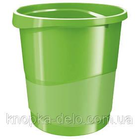 Корзина для бумаги Esselte Vivida 14 л пластиковая, красная