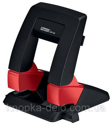 Дырокол RAPID Supreme Press Less SP30, цвет черный,  (24127301), фото 2
