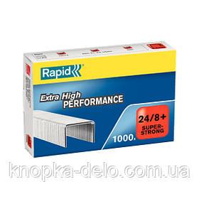 Скобы RAPID 24/8+ Super Strong арт. 24858500 в уп.1000шт