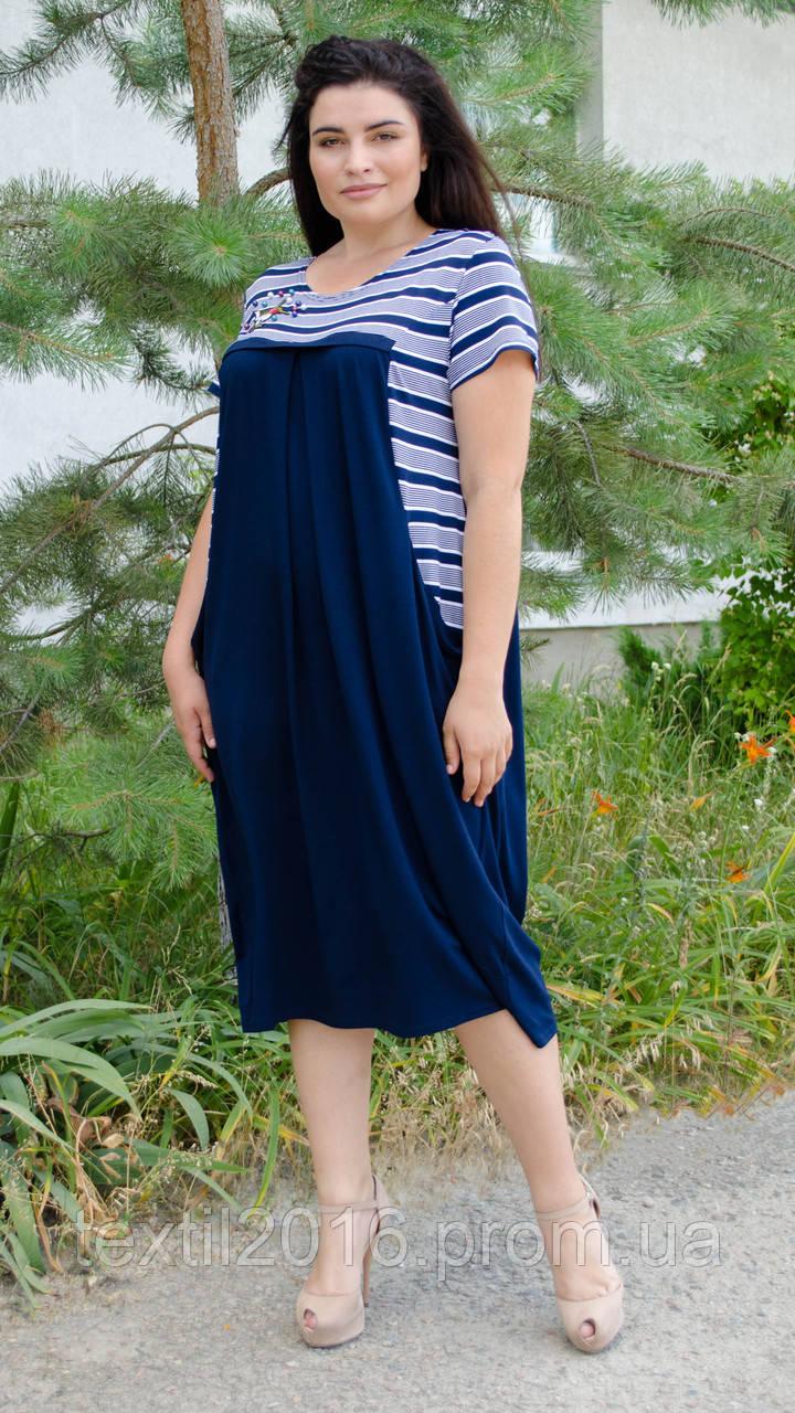Сукня Роксолана літо синій