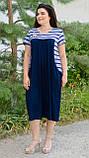 Сукня Роксолана літо синій, фото 2