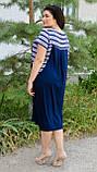 Сукня Роксолана літо синій, фото 4
