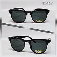 Детские очки солнцезащитные черные