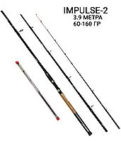 Фидерное удилище 3.9 метра тест 60-160 гр Impulse-2 Weida (Kaida)
