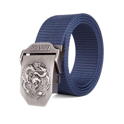 Ремень темно-синий DRAGON