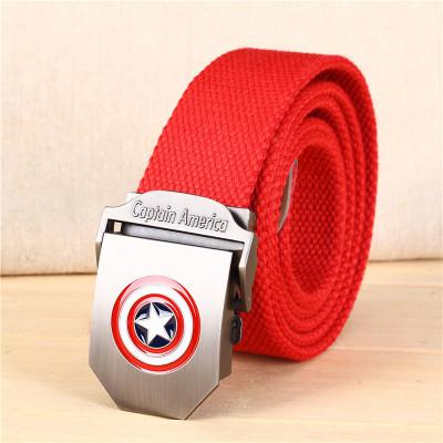 Ремень красный Captain America