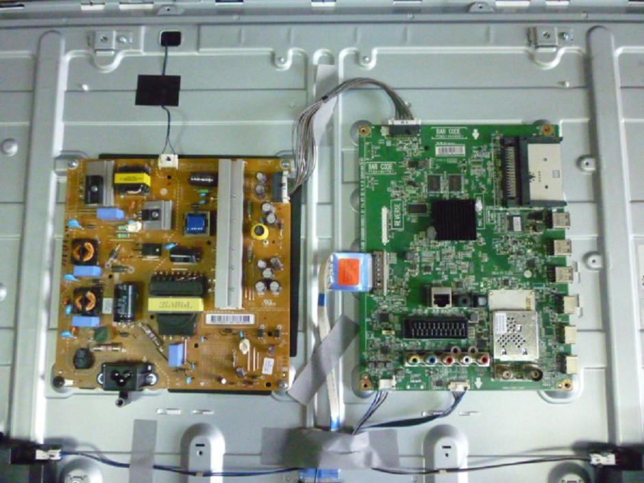 Плати від LED TV LG 42LB572V-ZP.BDRWLJU поблочно, в комплекті (розбита матриця).
