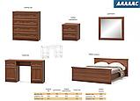 """Двоспальне ліжко """"Даллас"""" ( Мебель-Сервіс), фото 5"""