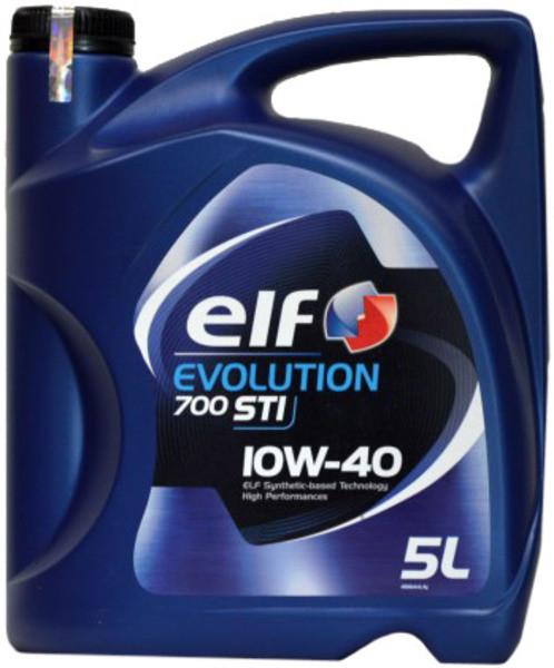 Моторное масло ELF EVOLUTION 700 STI 10W-40, 5л