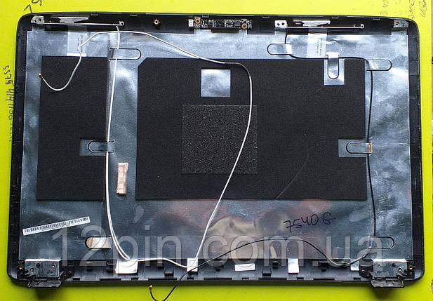 Кришка матриці Acer Aspire 7540g б.у. оригінал, фото 2