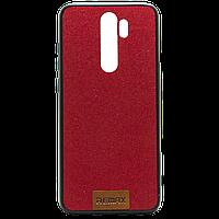 Чехол бампер накаладка для Redmi Note 8 Pro by Xiaomi, красный цвет