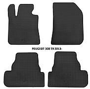 Коврики в салон резиновые Stingray PEUGEOT 308 (T9) 2013