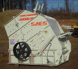 Первичные роторные дробилки Saes P1313