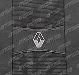 Авточехлы Renault Logan MCV 2009-2013 (7 мест)(з/сп. цельная) Nika, фото 4