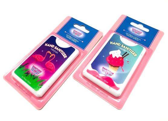Санитайзер антисептик для рук Sanitizer Vanilla спрей 20 мл