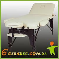 Складные массажные столы RAF 3-х секционный деревянный (буковый) ЛЮКС