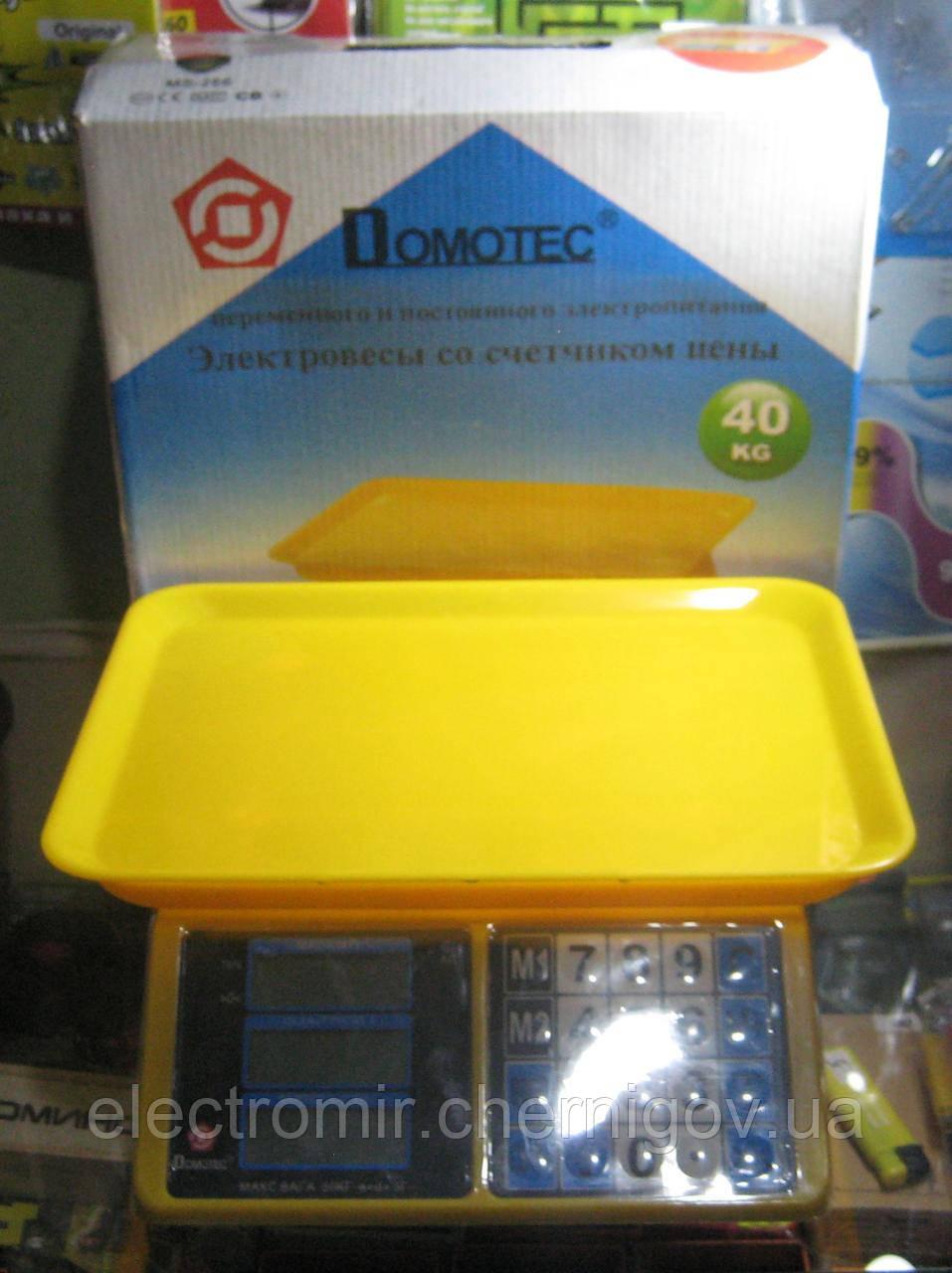 Весы торговые Domotec MS-266 (до 40 кг)