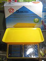 Весы торговые Domotec MS-266 (до 40 кг), фото 1