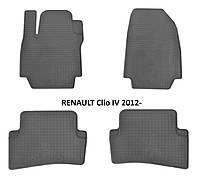 Коврики в салон резиновые Stingray RENAULT Clio IV 2012