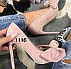 Жіночі замшеві туфлі класичні