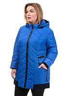 Женская куртка осень-весна Норма василек (52-58)