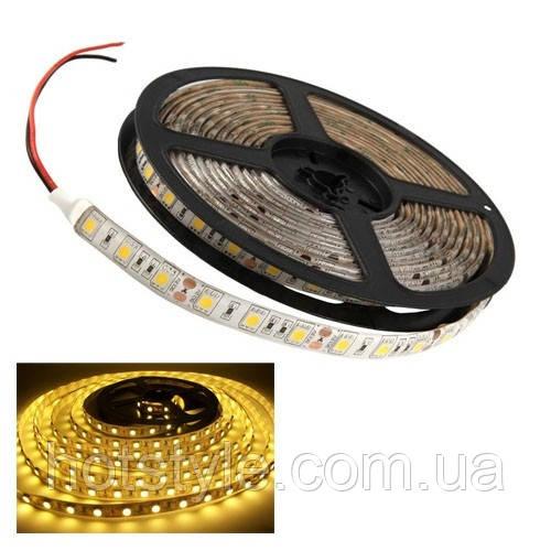 5м лента светодиодная, 300x 5050 SMD LED, тепл бел