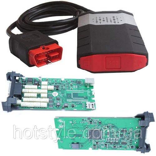 Delphi DS150E A+ одноплатный 3в1 OBD2 сканер диагностики авто
