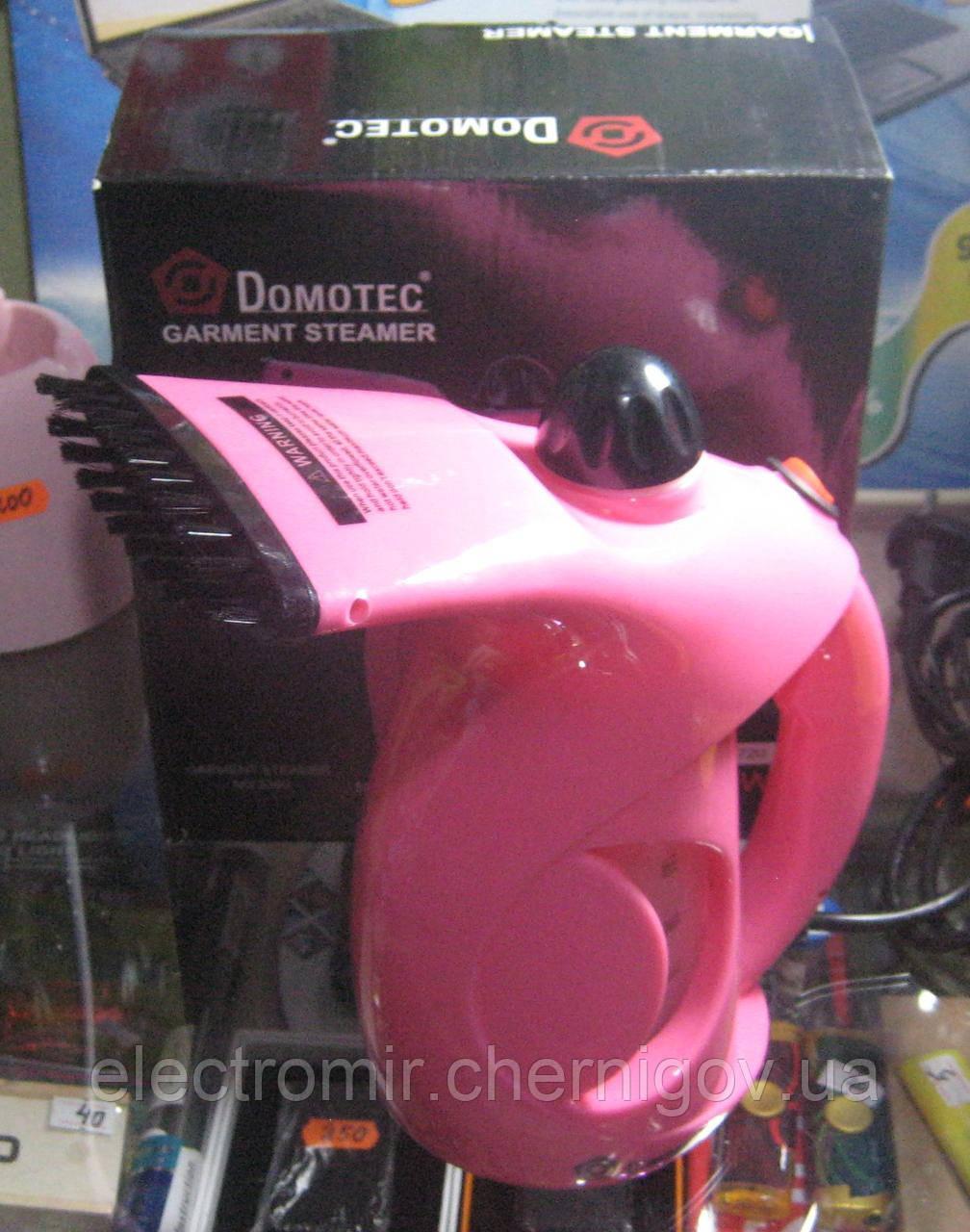 Отпариватель ручной многофункциональный Domotec MS-5360 800W (розовый)