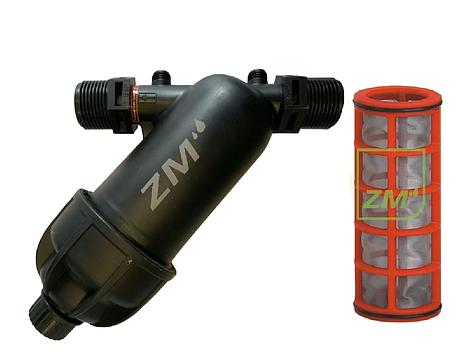 """Фильтр сетчатый ZM 1""""НН промывной (Испания), фото 2"""