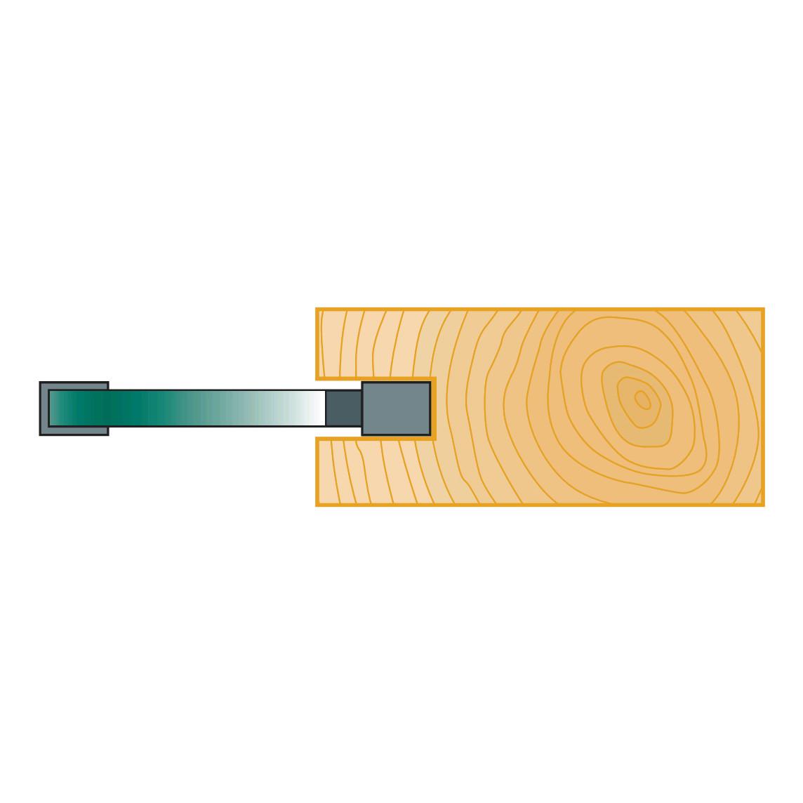 Пазовые дисковые фрезы Stehle  40х3х6, z=2