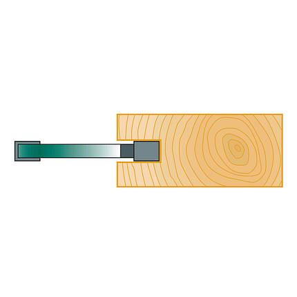 Пазовые дисковые фрезы Stehle  40х3х6, z=2, фото 2