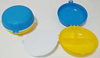 """Ланч-бокс пластиковый Ø=16 см, h=7 см """"ЧП КВВ"""", фото 1"""