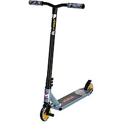 Трюковый двухколесный самокат с пегами и усиленной рамой Maraton Versa(золотые колеса)