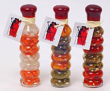Декоративная бутылка с овощами, 16.9см, 3 вида BonaDi 131-037
