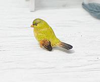 Пташка керамічна зелена, фото 1