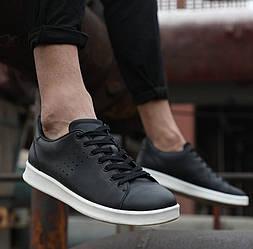 Кеды Xiaomi FreeTie Leather Shoes Black черные