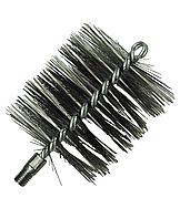 Щетка металлическая для чистки котла 100мм LUX