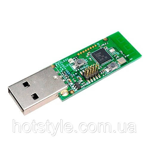 USB адаптер модуль Zigbee CC2531 Sniffer сниффер