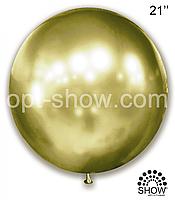 "Шар гигант Золотая Оливка 21"" (52,5 см) Арт Шоу"