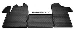 Коврики в салон резиновые Stingray RENAULT Master III 2011