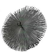 Щітка металева плоска для чищення димоходу 125мм LUX