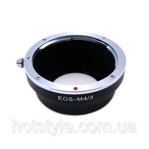 Адаптер переходник Canon EOS - Micro 4/3 M4/3 Ulata