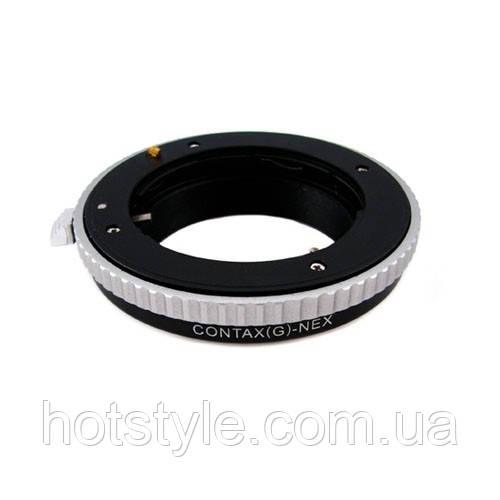 Адаптер переходник Contax G - Sony NEX E, кольцо Ulata