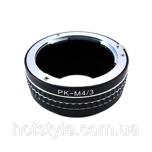 Адаптер переходник Pentax PK K - Micro 4/3 M4/3 Ulata
